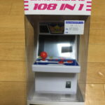 アーケード筐体型のミニゲーム機を買ってみた。- GAME MACHINE 108 in 1 –