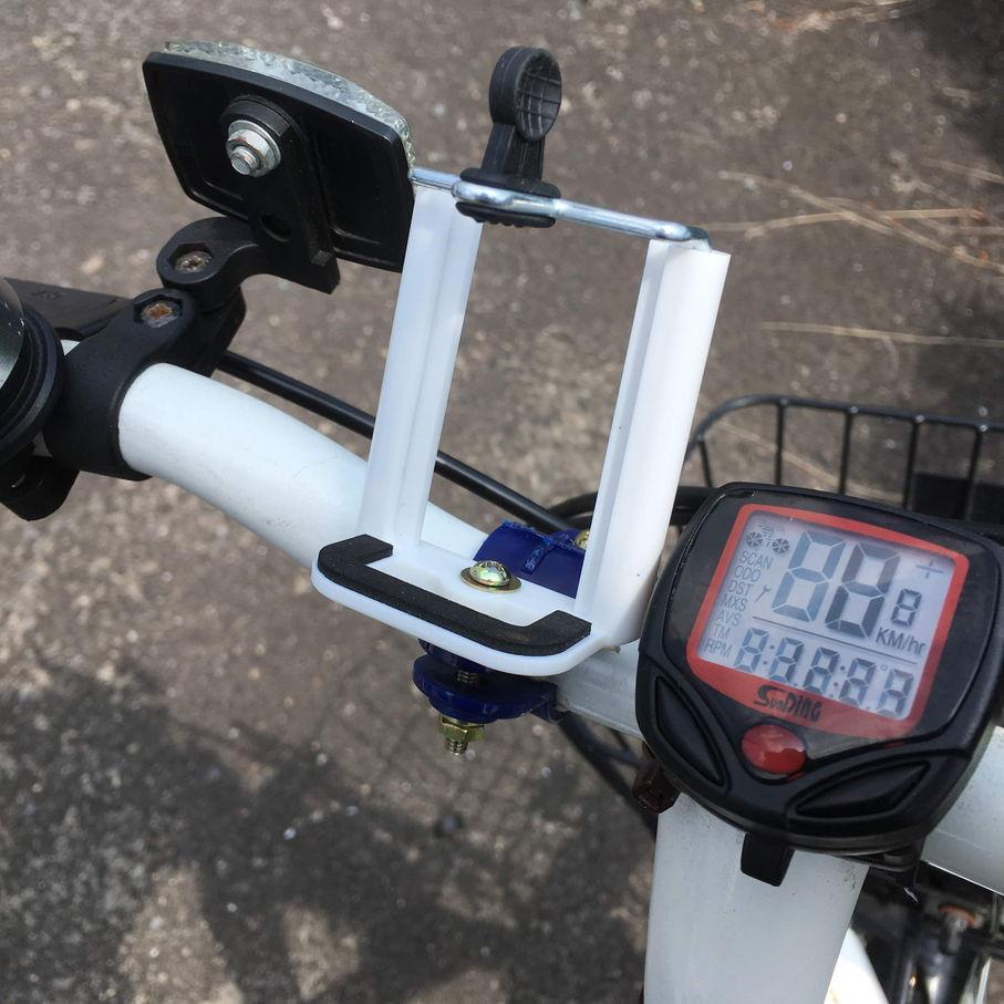 自転車 スマホ ホルダー